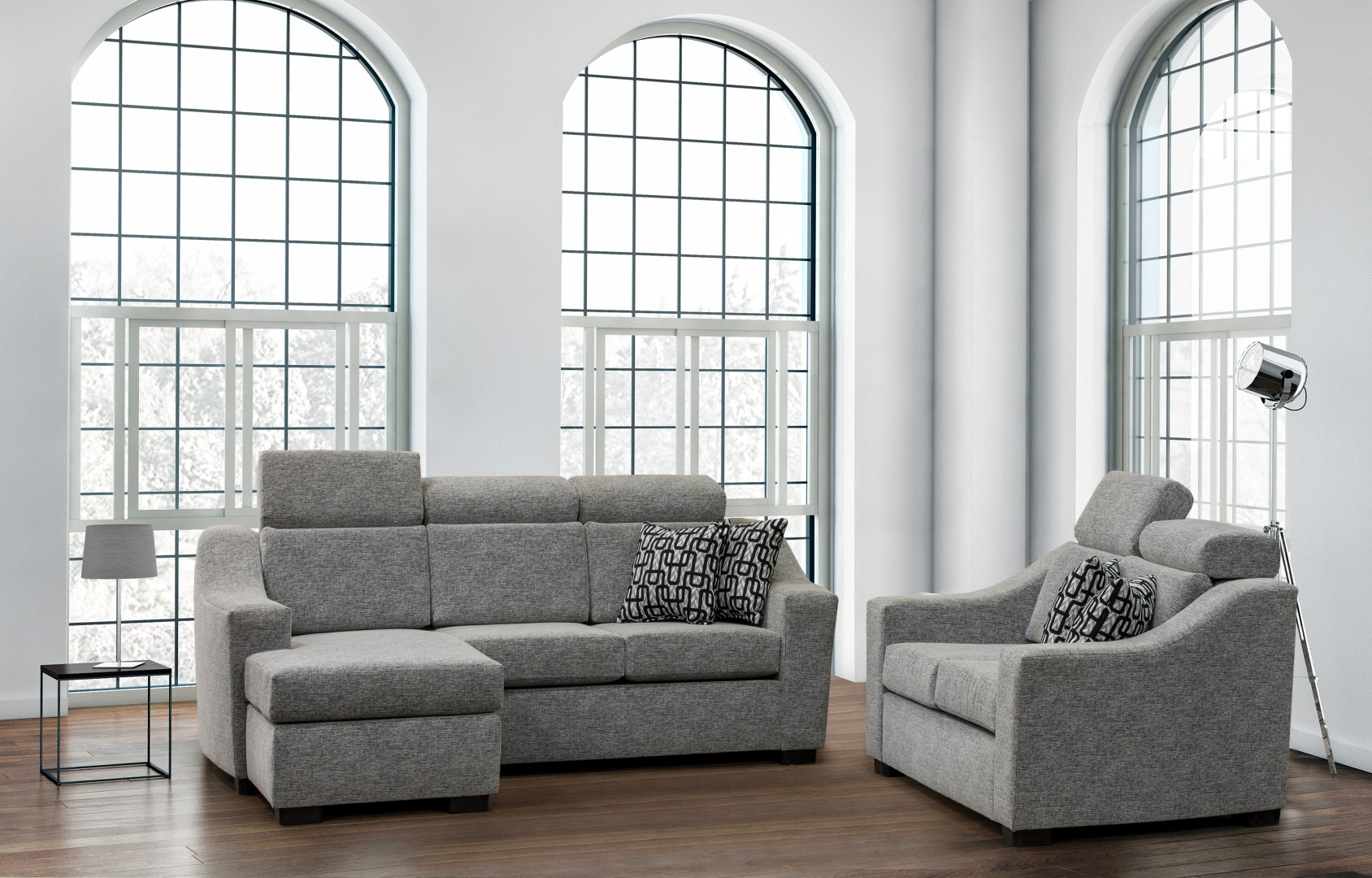 Sydney Fabric Sofa Collection